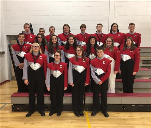 2017 Senior High County Band