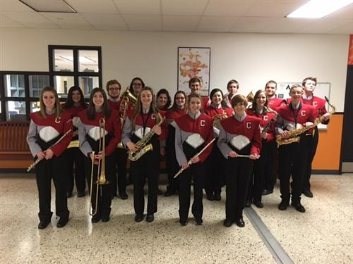 Senior High County Band 2016